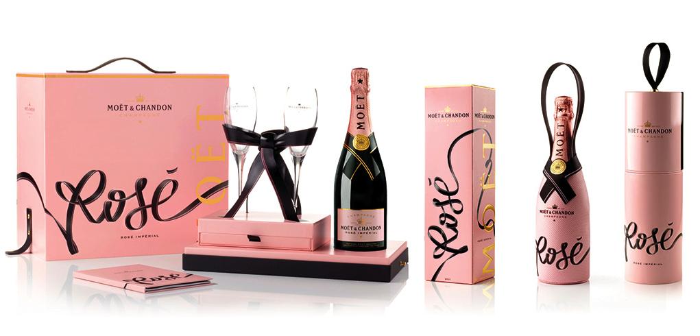 Moet et Chandon Rose Imperial per brindare in rosa