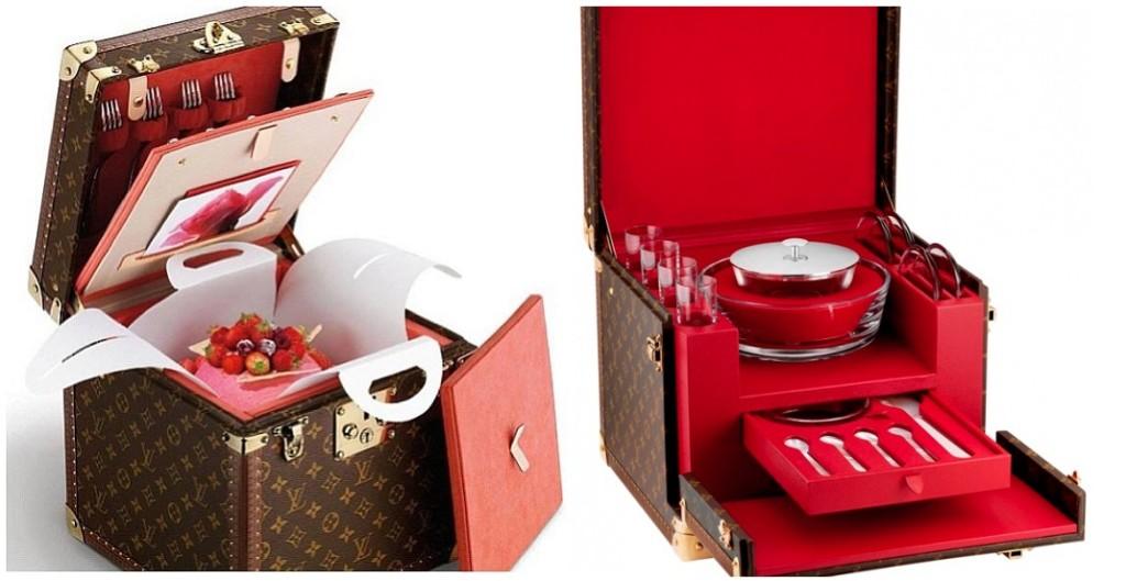 Valigia da picnic firmata Louis Vitton - casatreschic.it