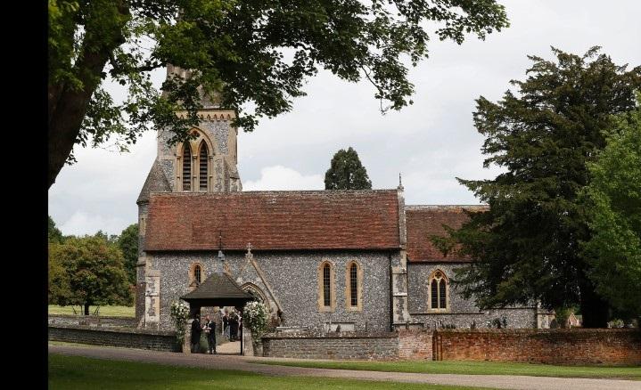 La piccola Chisa di St. Mark a Englefield