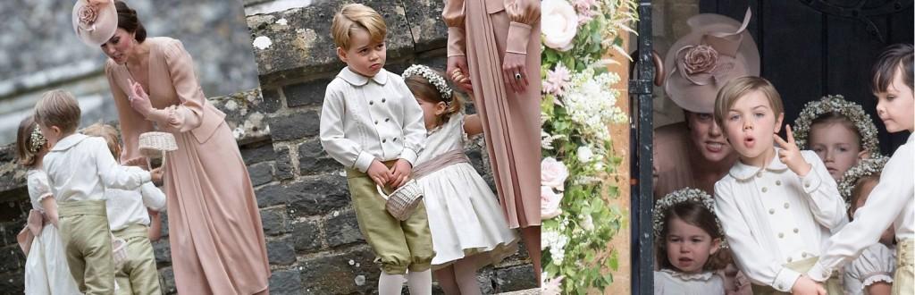 La duchessa di Cambridge, come tutte le mamme, sgrida i propri monelli e paggetti indisciplinati