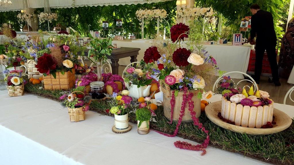 Il tavolo imperiale che ha accolto noi partecipanti