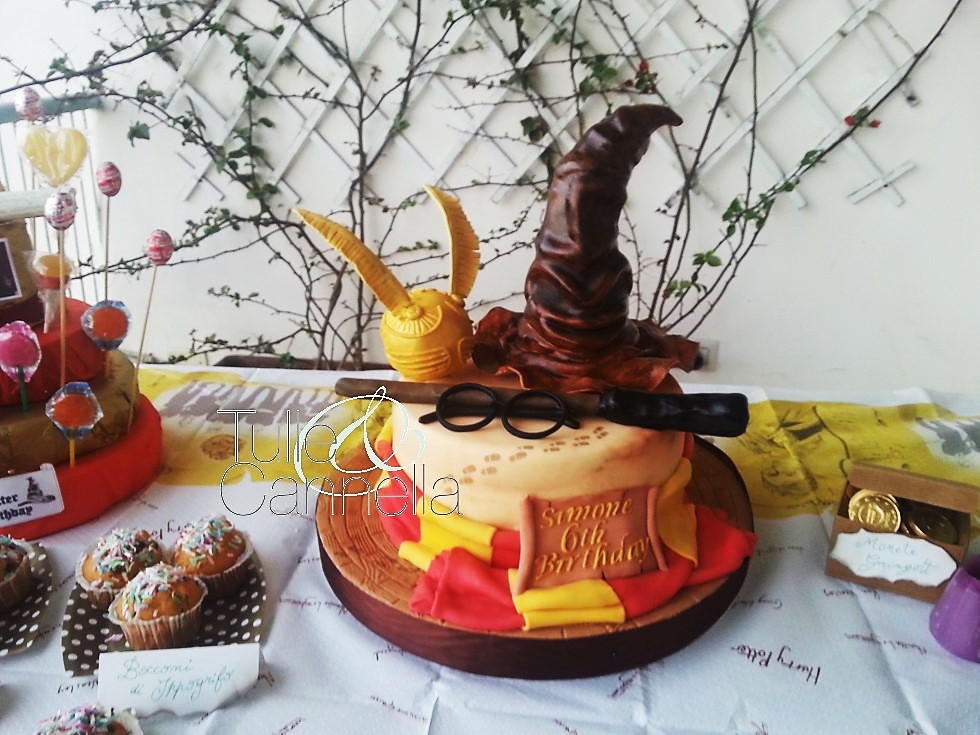 harry potter cake party