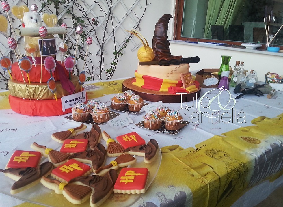 harry potter sweet table