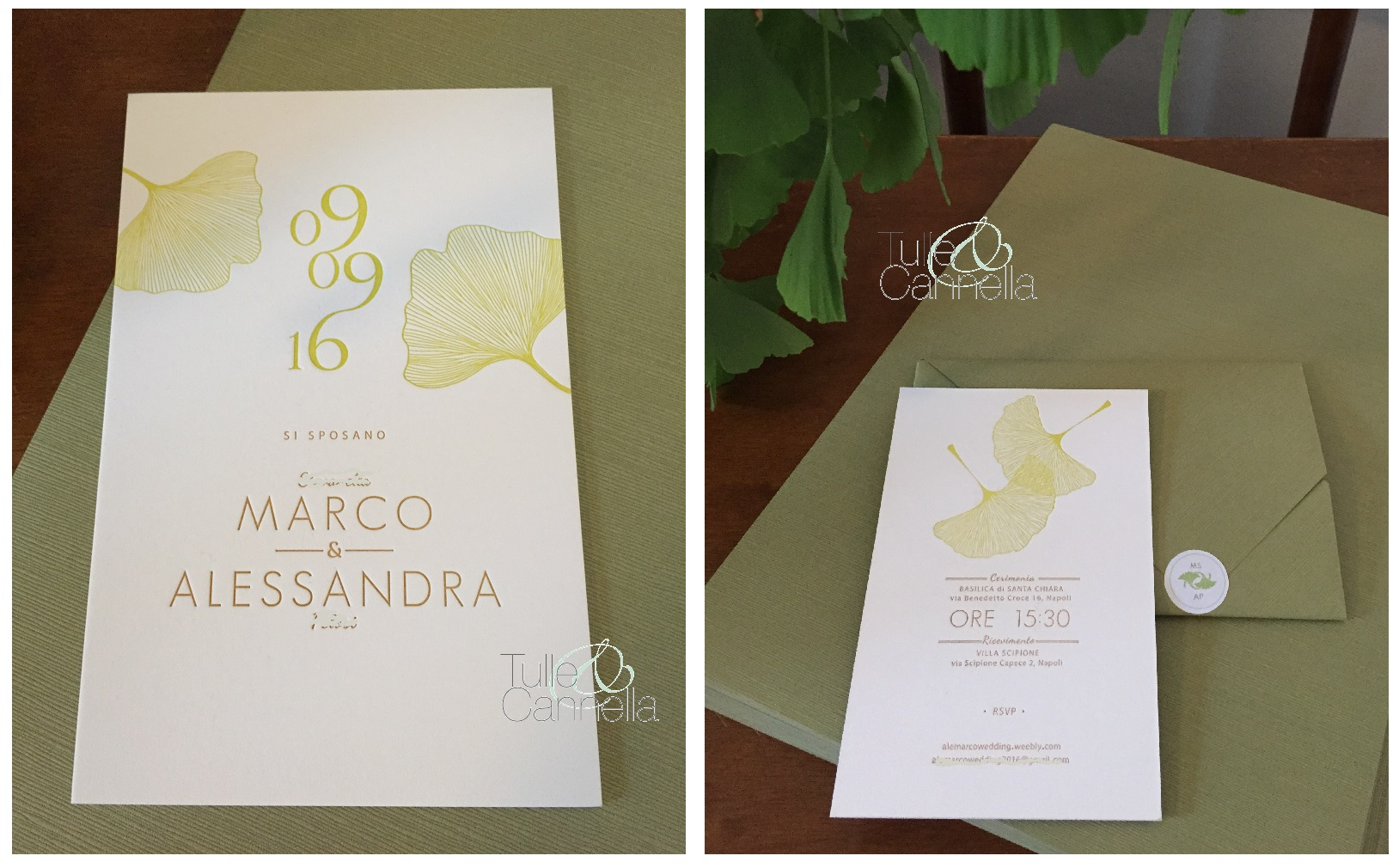 Un romantico matrimonio greenery wedding planner napoli for Ufficio wedding planner