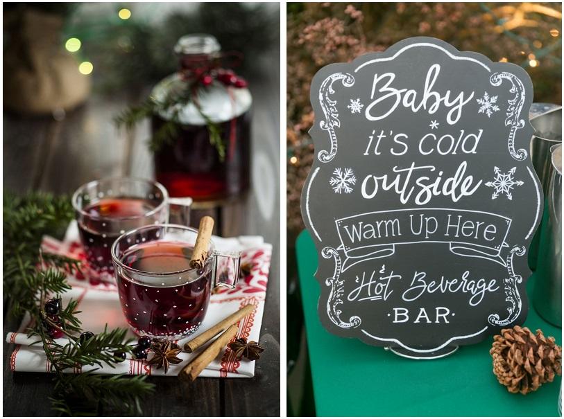 Per combattere il freddo ed essere spose glamour e originali... offrite una degustazione di Vin Brulè - thespruce.com