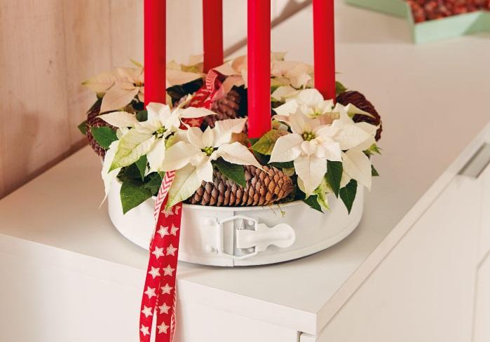 Centrotavola Natalizi Lavoretti.Centrotavola Di Natale Tante Idee Fai Da Te Wedding Planner