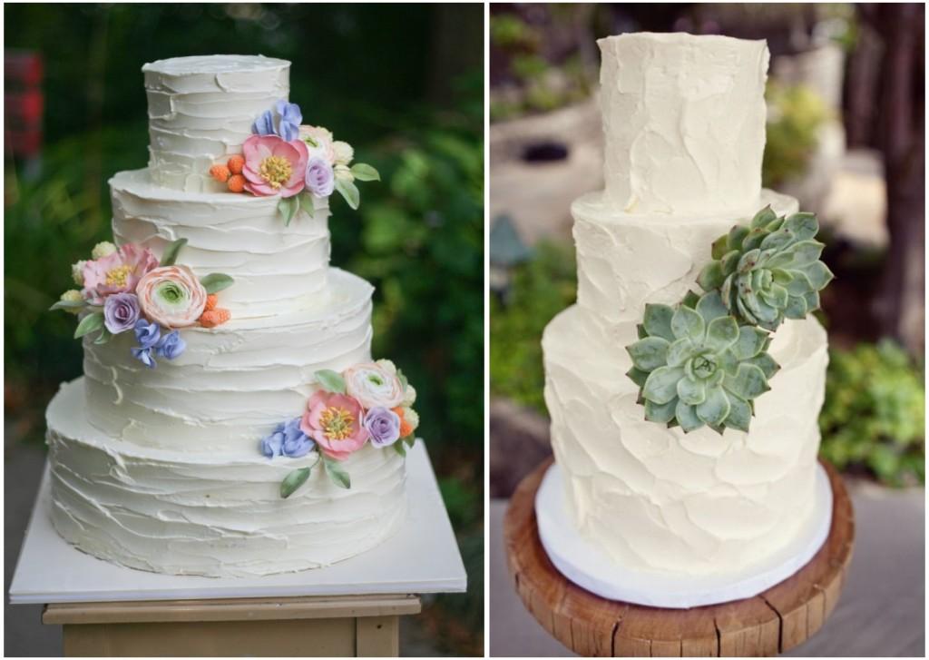 Deliziose e romantiche Buttercream cake - EricaObrien.com