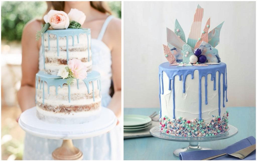 Adoro le nuove Drip Cake sia in versione nude cake che con fiori, macaron e altre decorazioni golose - Lucy Munoz photography