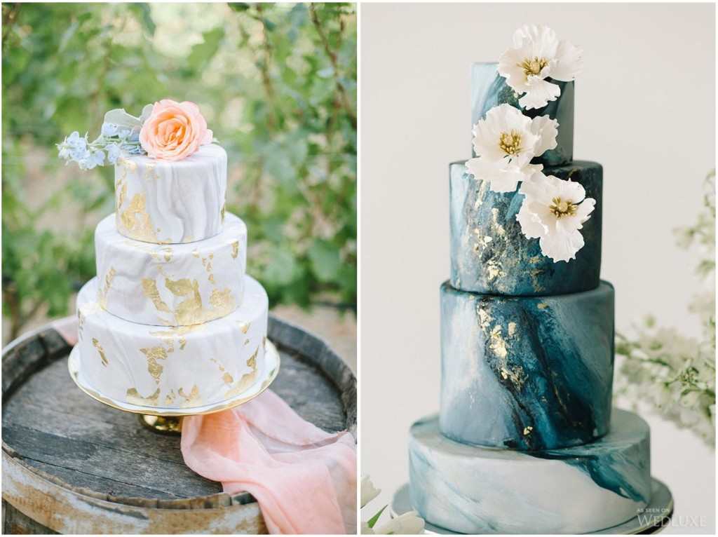 Nuance delicate o veri e propri metalli a contrasto... per veri capolavori di golosità! bridesatthepreserve.com
