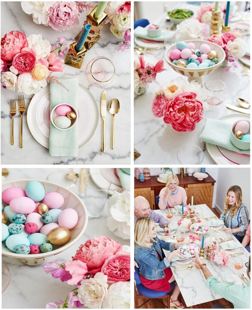 Moderna, colorata e con accenti gold la bellissima proposta di stylebyemilyhenderson.com