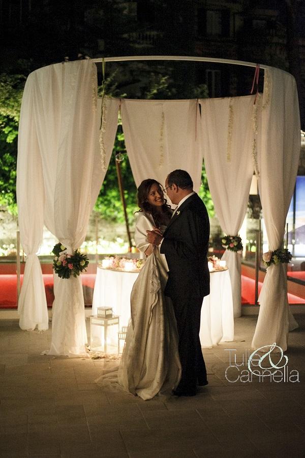 Enza e il suo papà in un ballo romantico che il padre avrebbe voluto durasse in eterno :) - tullecannella.it