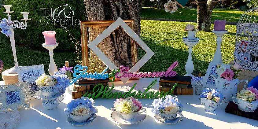 Matrimonio Tema Alice In Wonderland : Decorazioni per il matrimonio: dillo con le parole! wedding