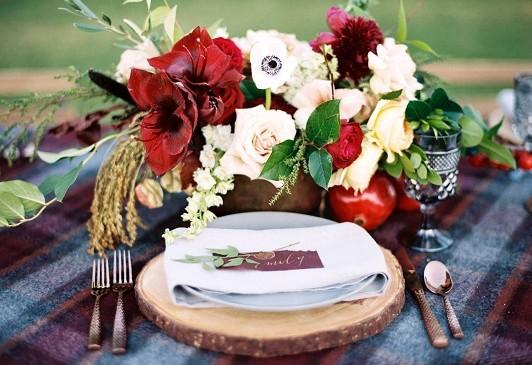 Idee e decorazioni per un matrimonio autunnale