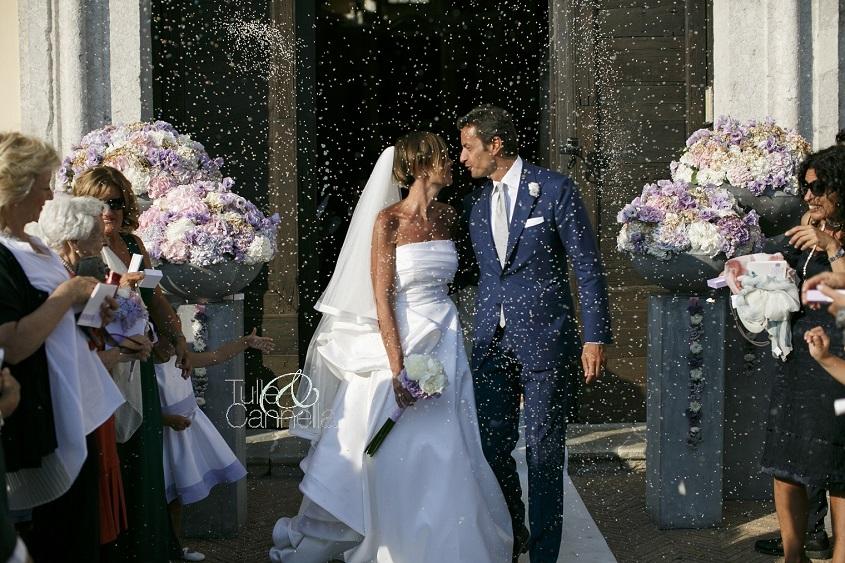 L'epilogo di una cerimonia nuziale perfetta - Matrimonio Dario & Desy a cura di tullecannella.it