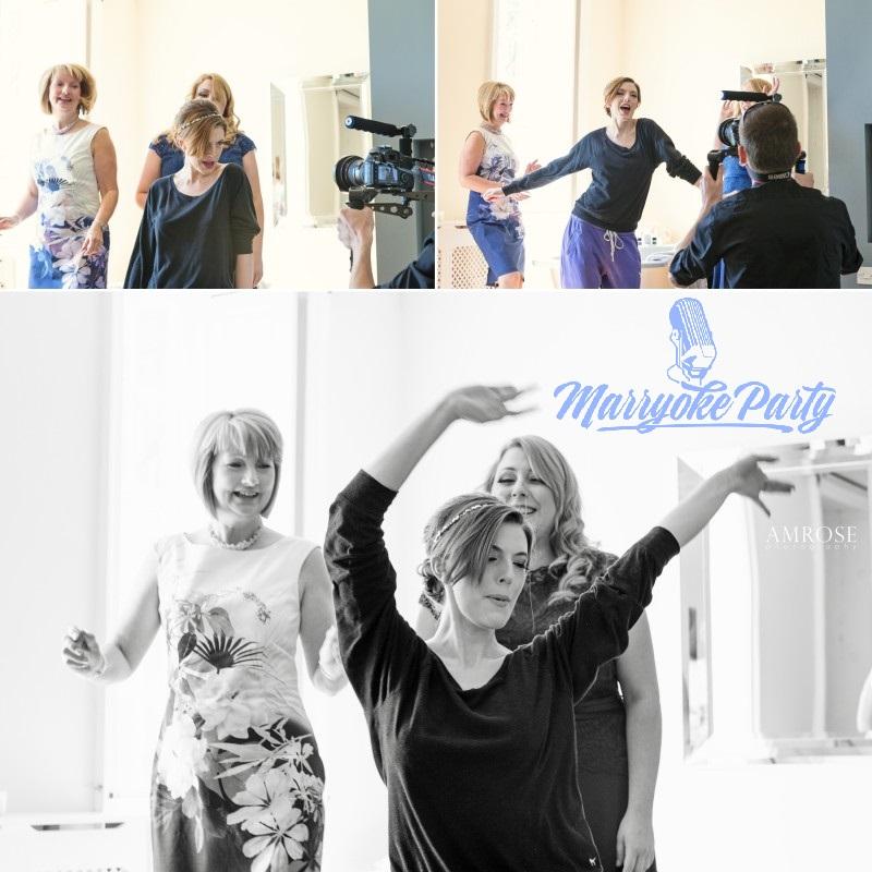 Backstage di un Marryoke - Victoria Amrose photography