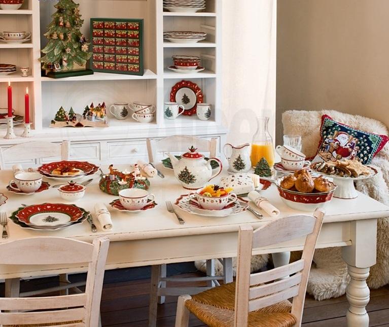 La tavola della colazione delle feste secondo Villeroy & Boch