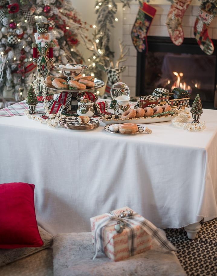 Semplicemente magica la colazione allestita dalla famiglia Mckenzies di house-of-five.com