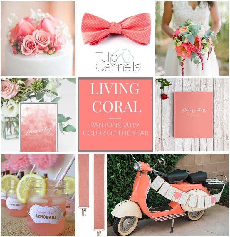 Living Coral è un colore splendido, luminoso e versatile. Ecco i miei suggerimenti - tullecannella.it
