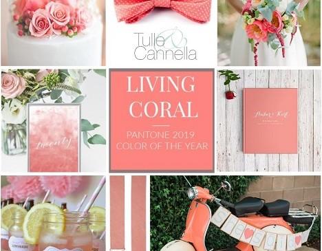 Colore Pantone 2019: fatti ispirare dal Living Coral