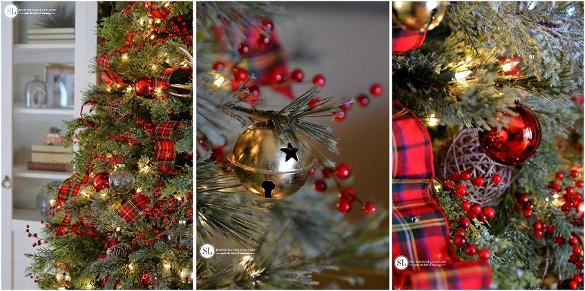 Adoro il Tartan sull'albero di Natale - bystephanielynn.com