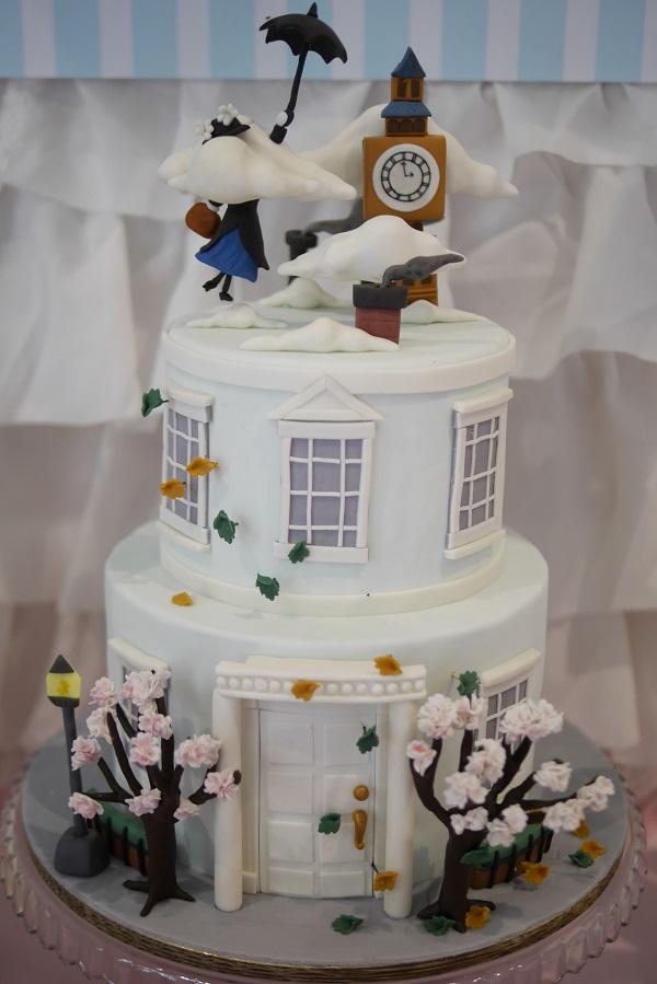 La favola di Mary Poppins egregiamente riprodotta in pasta di zucchero! - snackncake.com