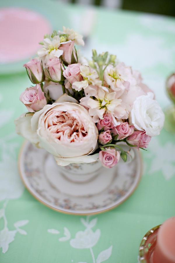 Il verde menta insieme a tutte le sfumature del rosa: tres chic! - dreamfood.com