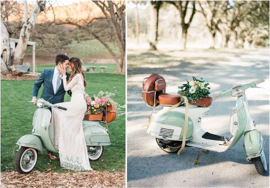 I dettagli chic e vintage che piacciono a me. E stavolta sono anche verde menta! - weddinggawker.com