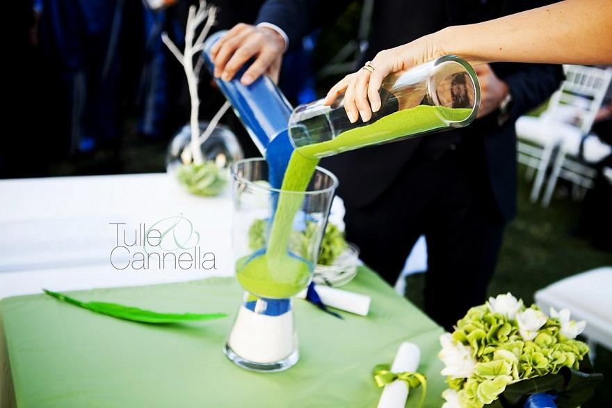 La splendida cerimonia della sabbia che ho allestito per Claudia e Nicola 6 anni fa! - Tulle & Cannella Wedding Planner