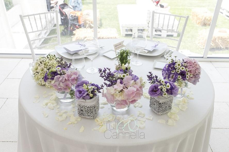 tavoli del matrimonio tulleecannella tavolo sposi