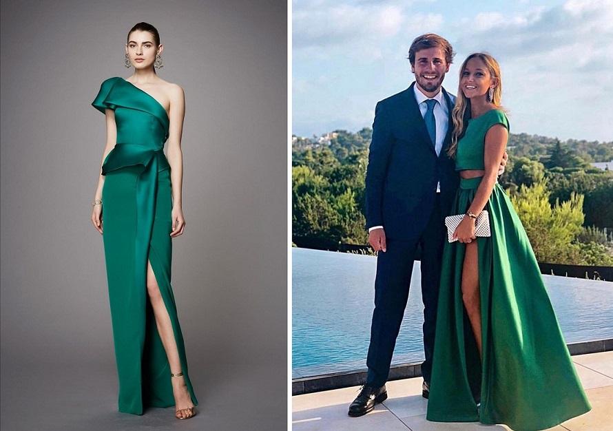 come vestirsi a un matrimonio verde smeraldo