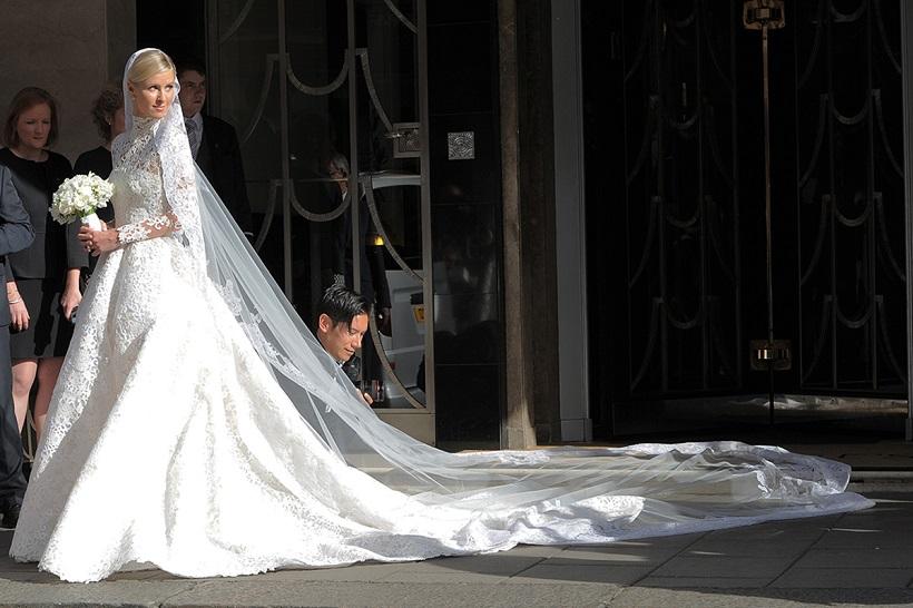 velo da sposa Nicky Hilton