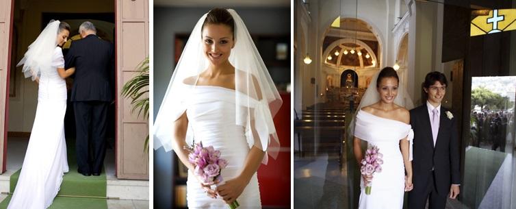 velo da sposa corto a triangolo tulleecannella
