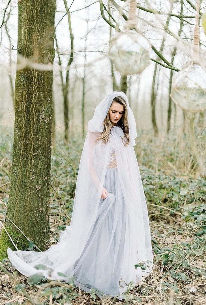 velo da sposa mantello cappuccio