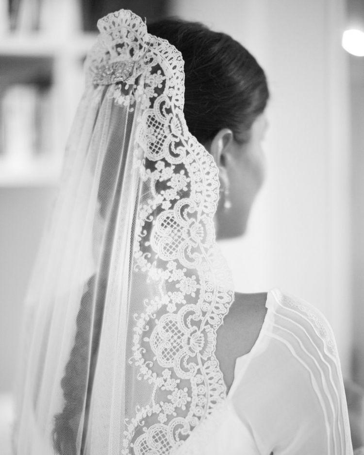 velo da sposa storia moda mantiglia