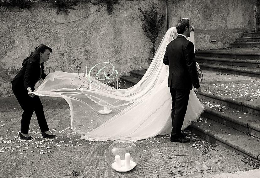 velo da sposa velo church strascico