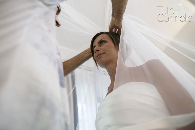 velo da sposa vestizione tulleecannella weddingplanner