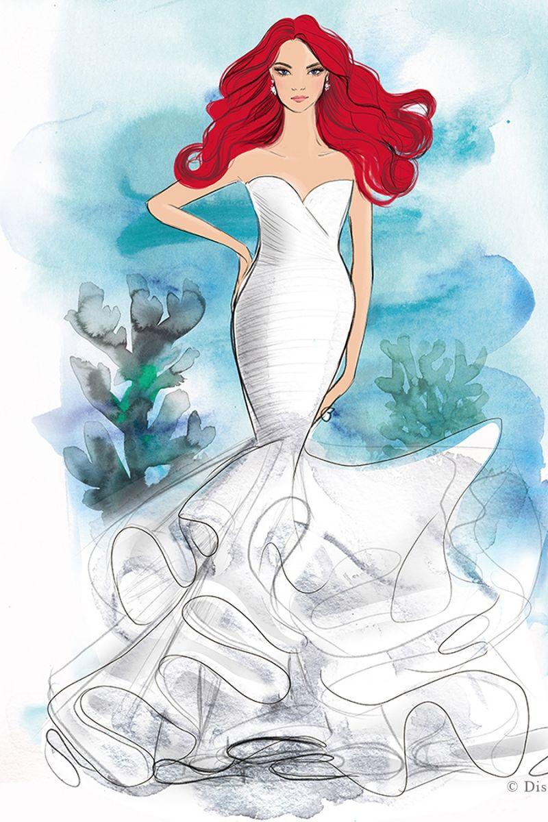 Principessa Disney Ariel wedding napoli