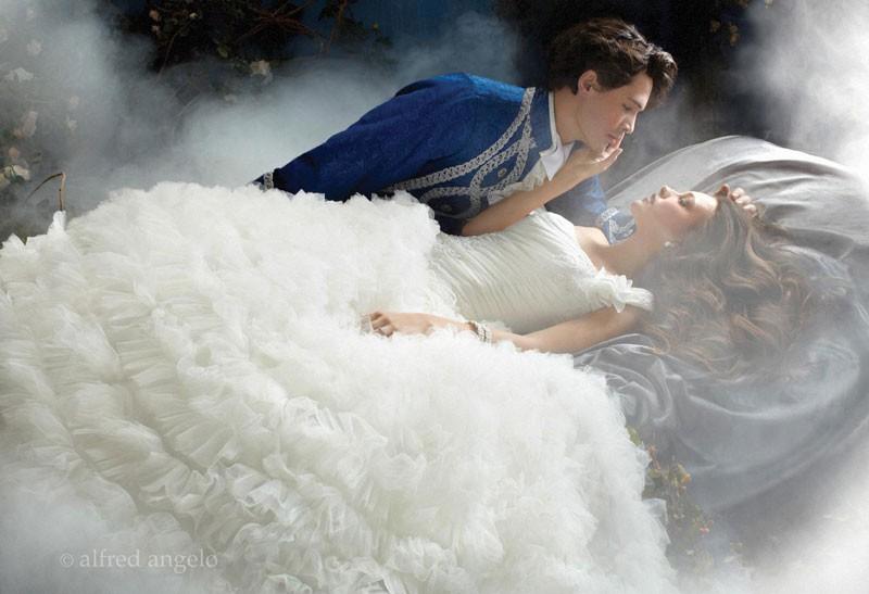 principessa disney aurora alfred angelo