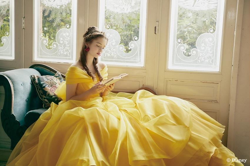 principessa disney belle kuraudia abito sposa da favola