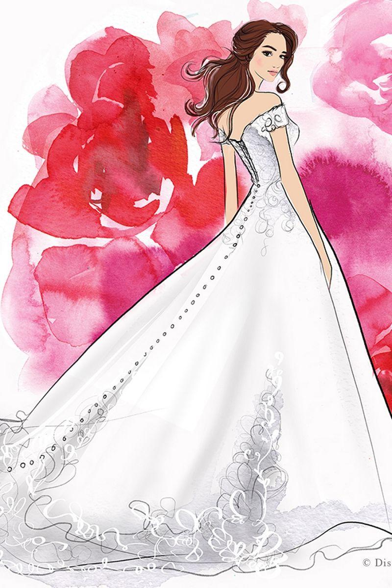 principessa disney belle wedding napoli