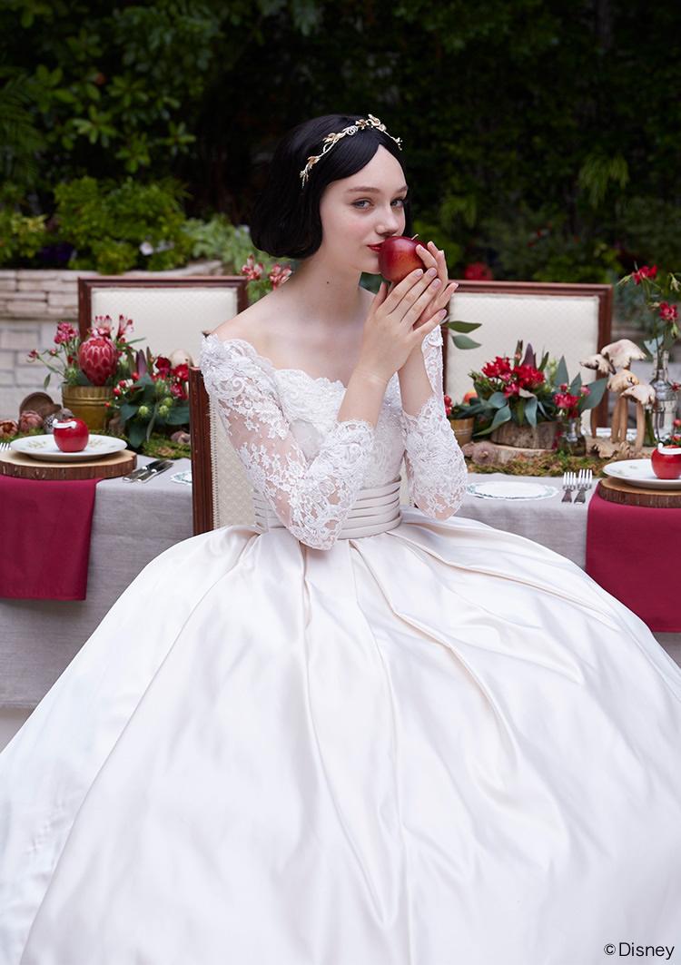 principessa disney biancaneve kuraudia bianco