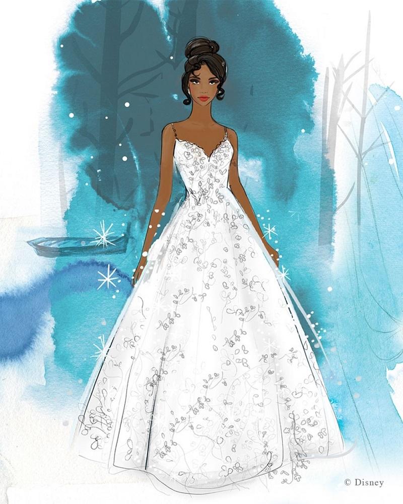 principessa disney tiana wedding napoli