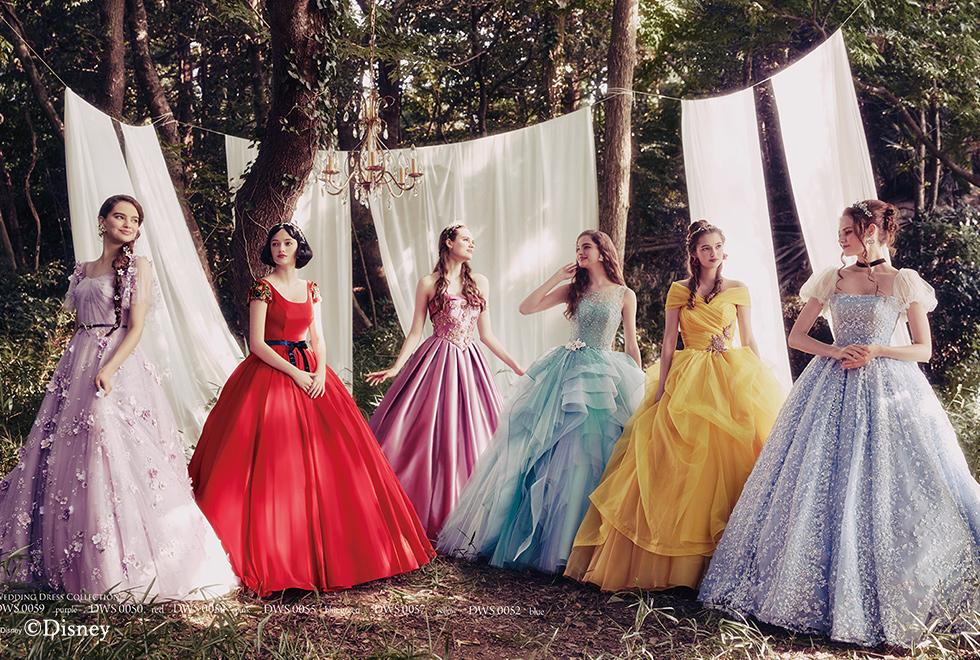 principessa disney gli abiti sposa delle favole