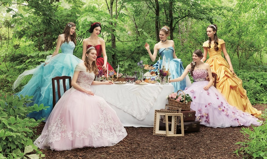 Principessa Disney wedding napoli principesse fiabe
