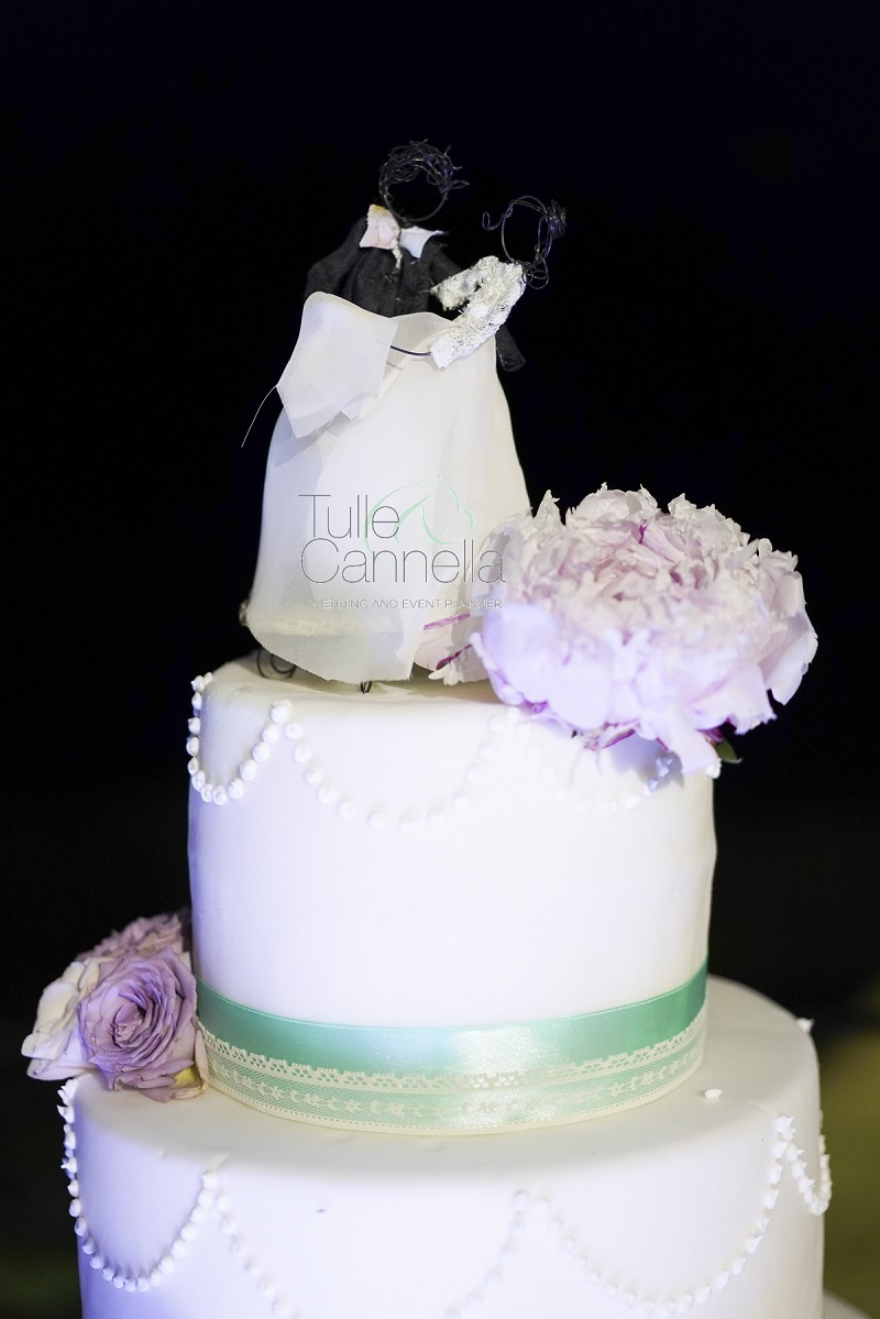 ricordi del matrimonio cake topper personalizzato