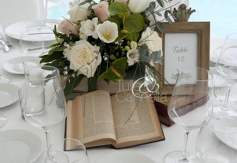 decorare con le cornici la tavola tulle e cannella