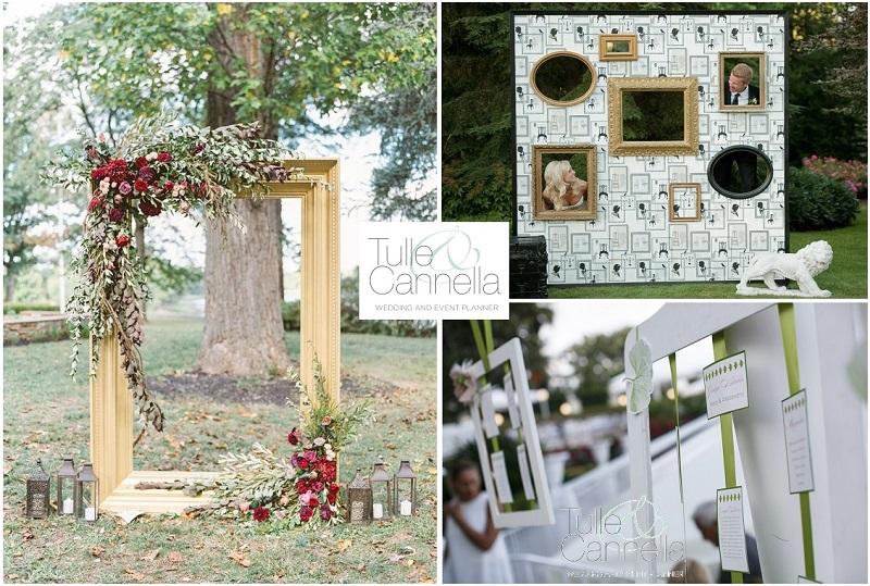 decorare con le cornici weddingomania