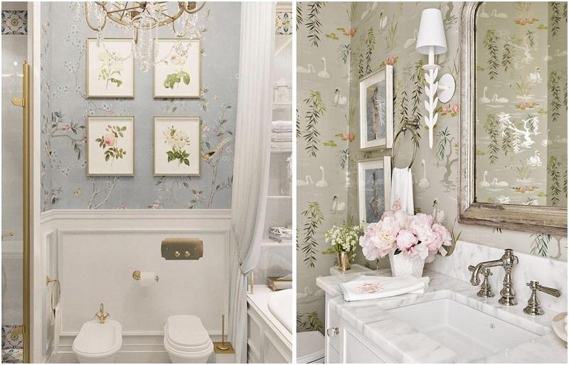 decorare con le cornici whitebathroom top