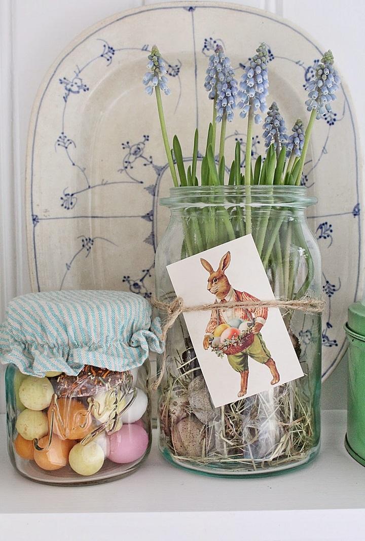 Decorazioni di Pasqua barattoli vibekedesign 3
