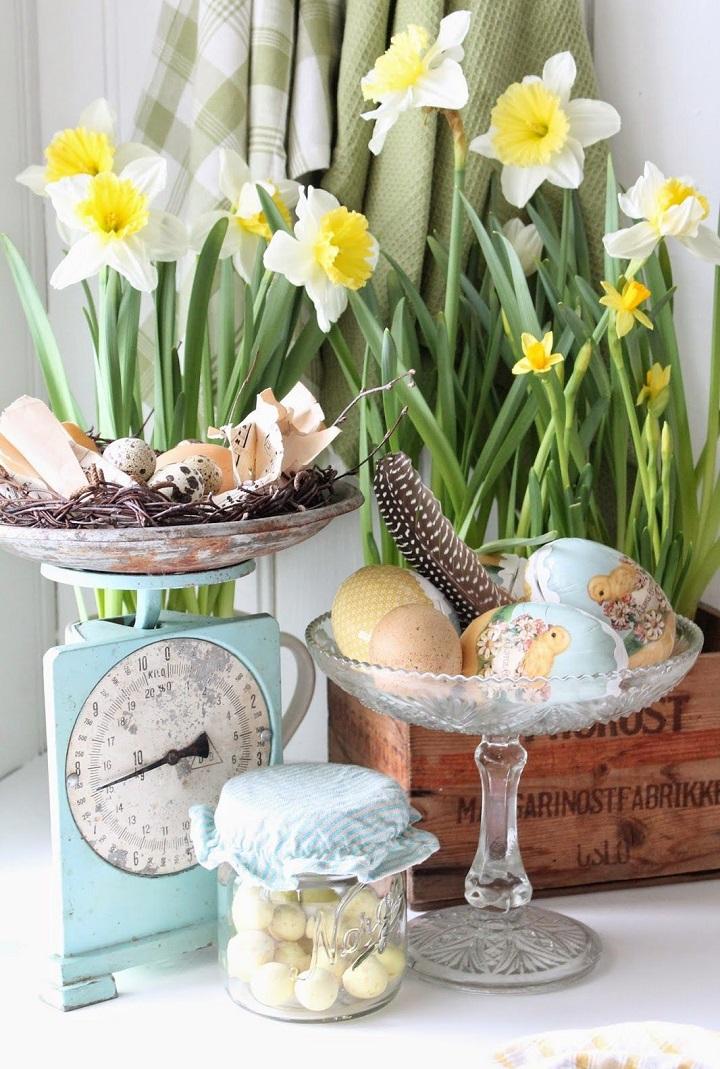 Decorazioni di Pasqua barattoli vibekedesign 5